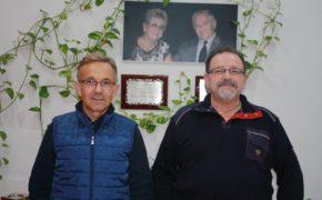 Juan Miguel y Manuel Alcaide, actuales gerentes de Congelados Apolo
