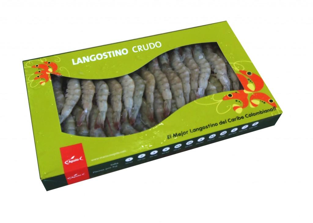 Langostino cocido congelado, Mariscos Apolo