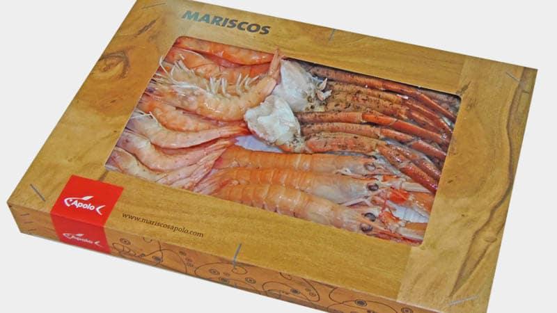 Mariscada cocida congelada, venta online