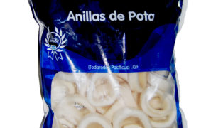 anillas de calamar congeladas