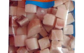 Caella congelada en taquitos