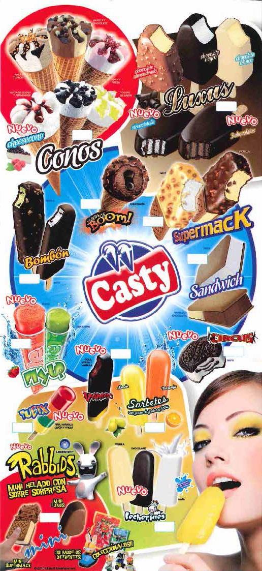 helados casty