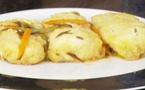 recetas, merluza congelada, verduras