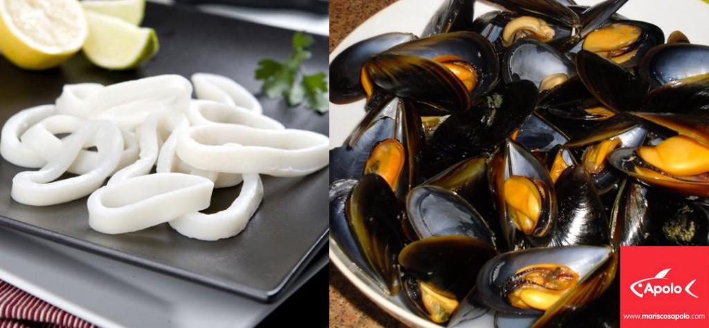 paella de mariscos Apolo