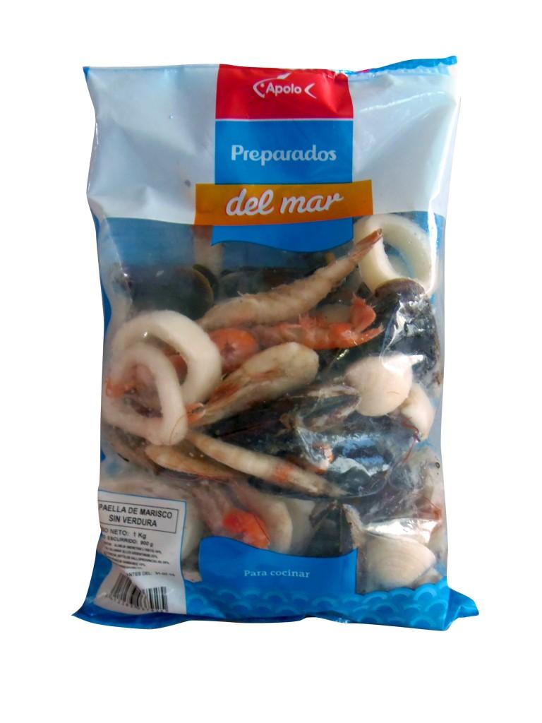 paella de mariscos sin verduras Mariscos Apolo