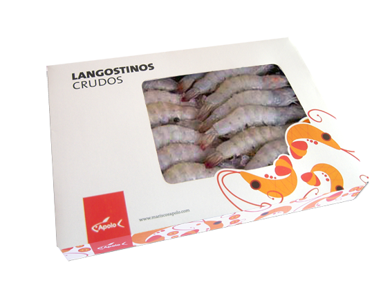 langostino crudo apolo colombia
