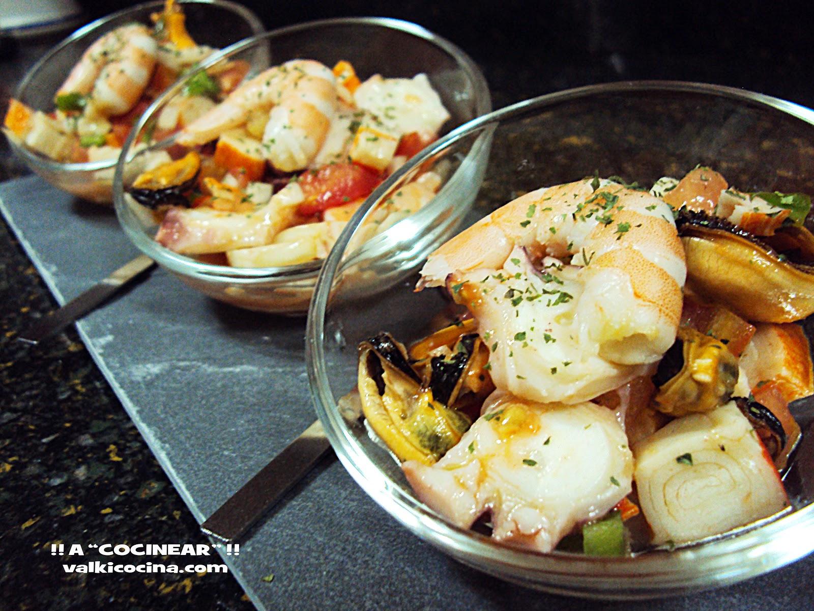 recetas marisco san valentin