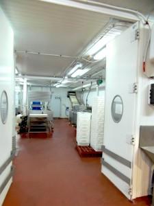 Sala dde elaboración Congelados y Mariscos Apolo