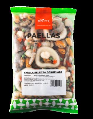 Paella selecta congelada