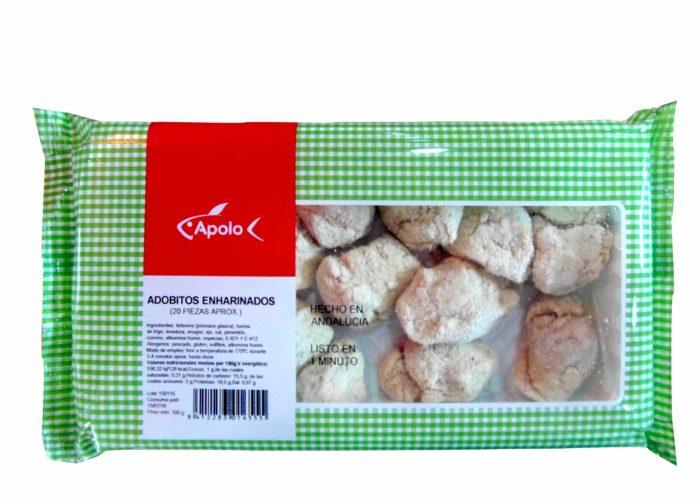 Adobitos enharinados congelados Apolo - Precocinados congelados