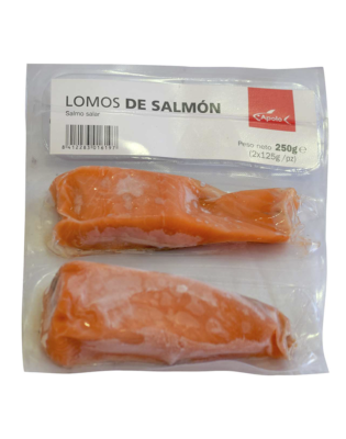 lomos de salmón ultracongelado