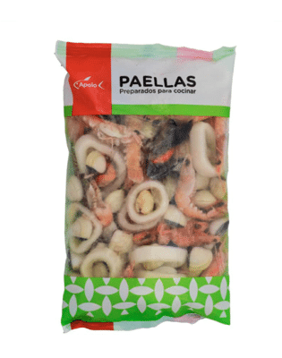 Paella De Marisco Sin Verduras