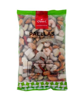 Paella selecta congelada Preparados congelados Apolo