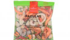 Preparados de Paellas congelados Apolo - Paella selecta con marisco y pescado