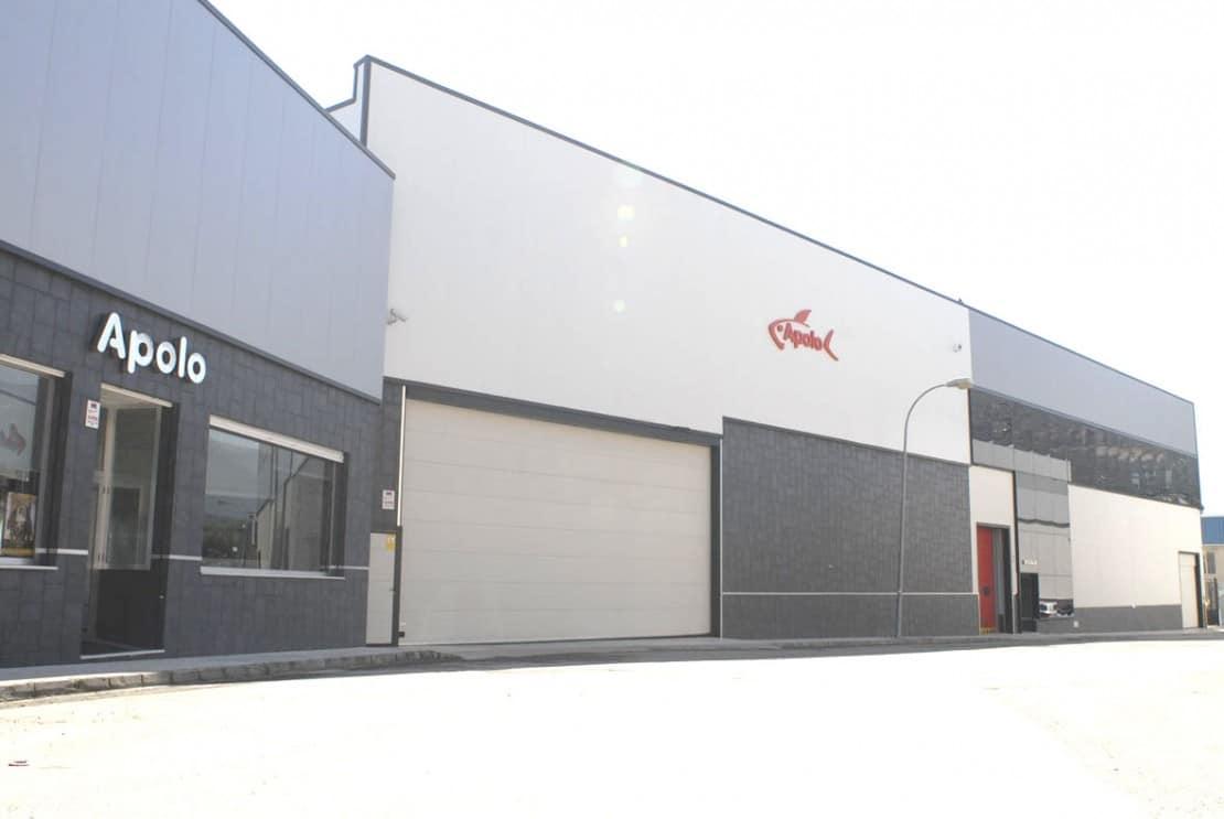 Sede Principal y fábrica de Congelados Apolo en Loja, Granada