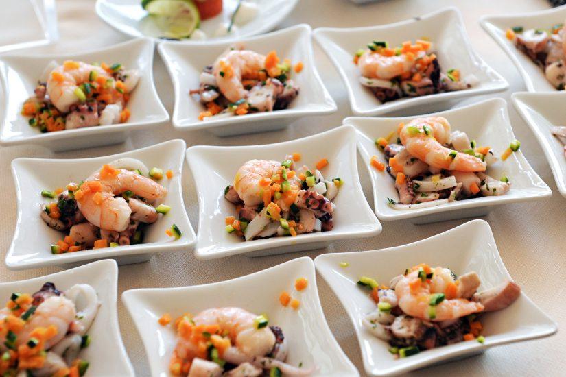 Pescado y Mariscos Congelado para empresas de catering
