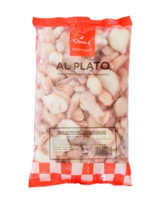 Rejos de Potón cocidos y congelados Apolo