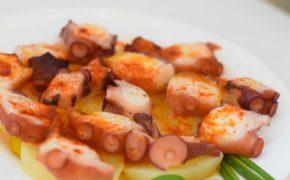 Receta de Pulpo a la gallega: productos congelados para hostelería