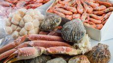Aumenta el consumo de pescado y marisco congelado