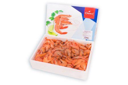 01546 Langostino cocido congelado Apolo vanamei
