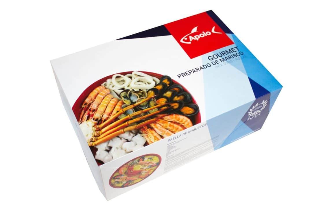 Preparado de marisco gourmet