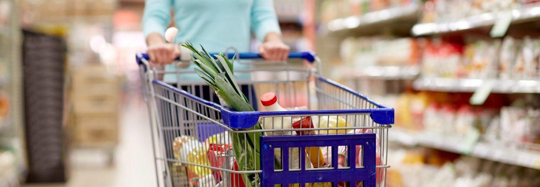 La distribución de comestibles en España