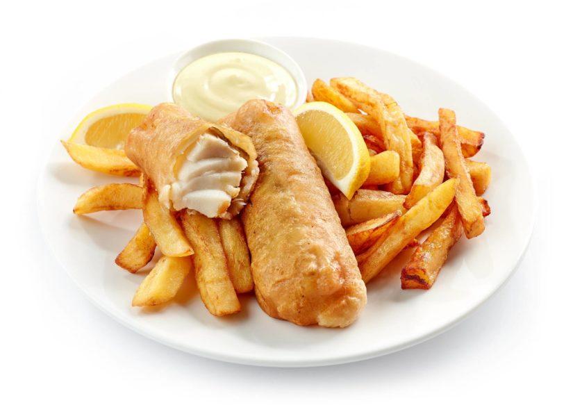 Cómo hacer un Fish and chips típicamente inglés - Bacalao rebozado