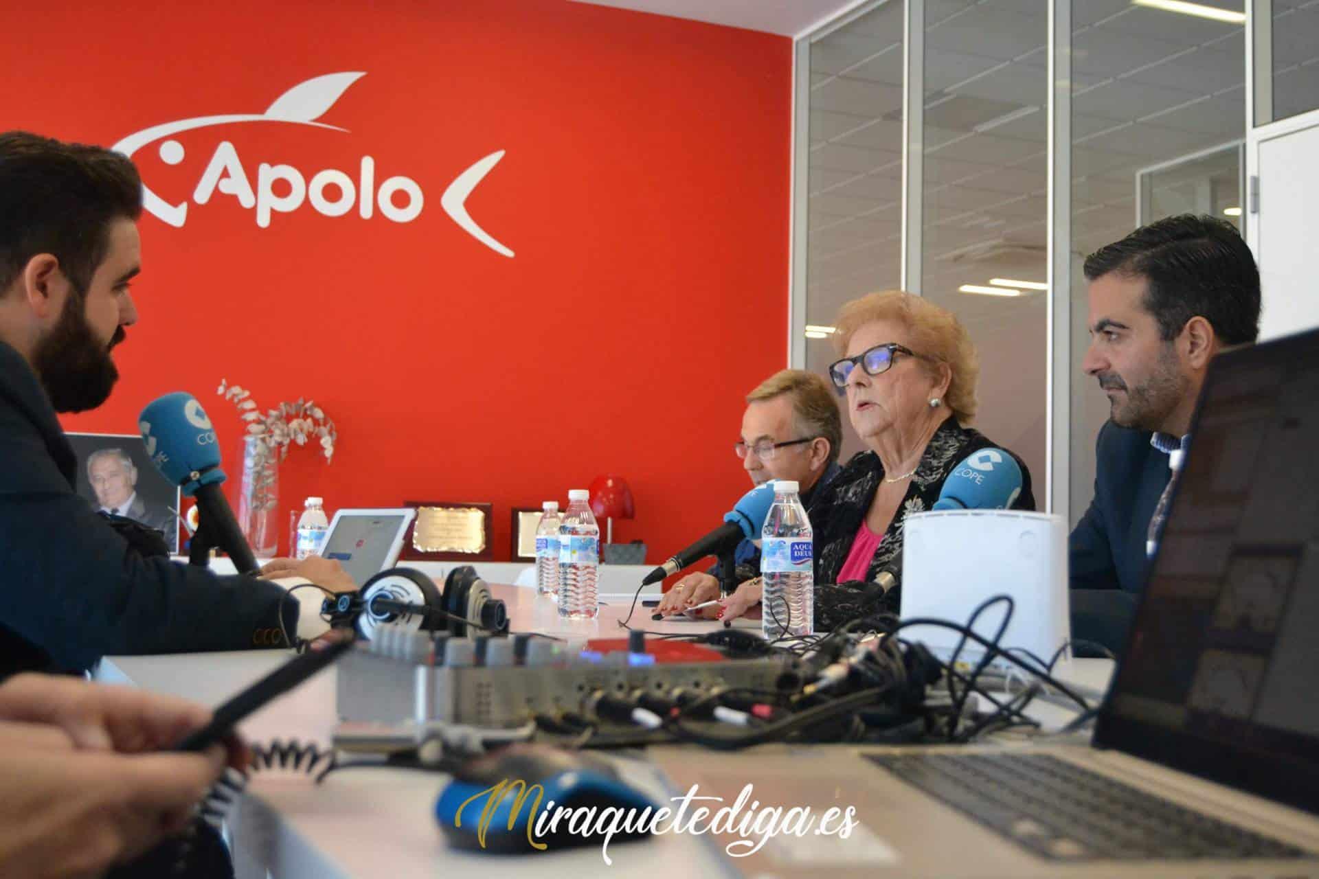 Programa COPE Granada en Apolo 10