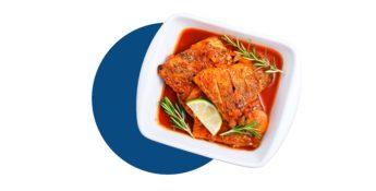 Receta Panga en salsa de tomate - Receta de pescado barata