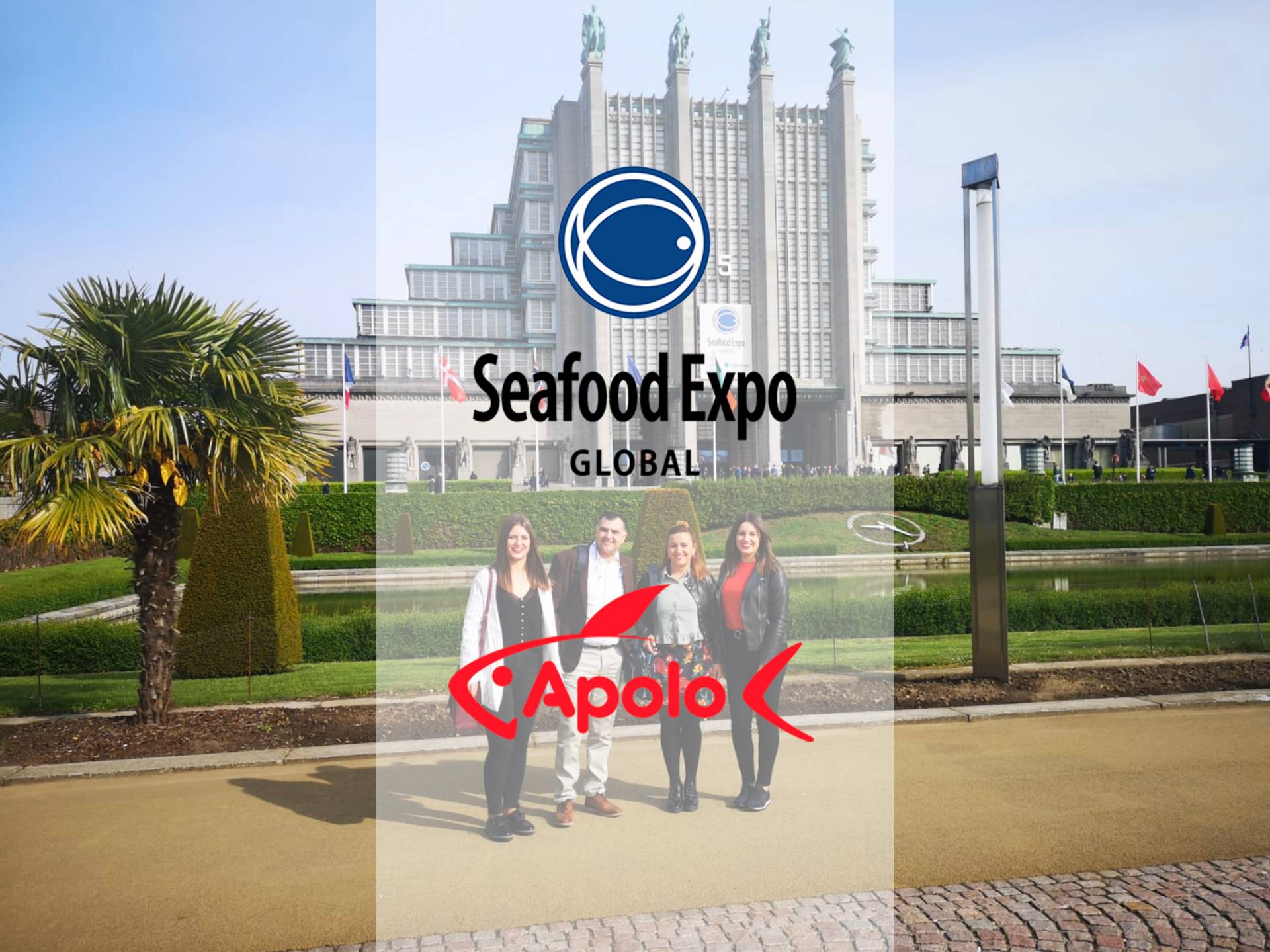 Mariscos Apolo en el Seafood Expo Global - Noticias Corporativas