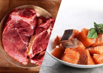 Sustituir la carne roja por pescado evita enfermedades