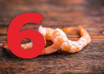 6 razones para comer langostinos congelados