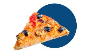 Cómo hacer pizza mediterránea