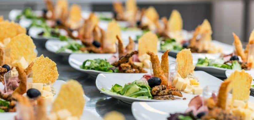 plato de lujo catering